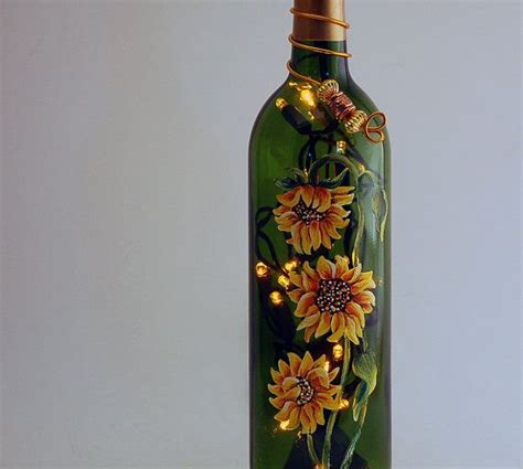 1000 images about creative things to do with empty wine bottles on pinterest