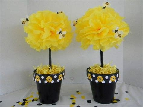 bumble bee tissue pom pom pots are part of the bumble bee