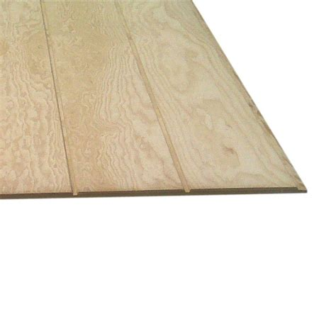 5 8 T1 11 Exterior Siding by Plywood Siding Panel T1 11 8 In Oc Common 5 8 In X 4 Ft