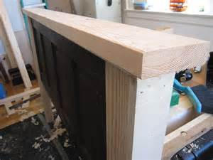 ain t she crafty how to build a headboard from an door
