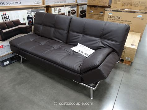 costco pulaski newton chaise sofa bed mattress sale