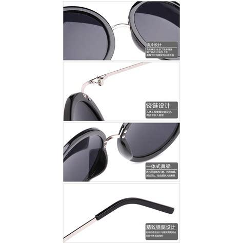 Kacamata Bulat kacamata bulat klasik black jakartanotebook