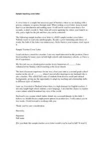 middle school cover letter elementary cover letter sle middle school