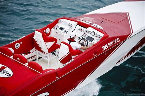 ferrari cigarette boat cigarette racing team has more power in its performance