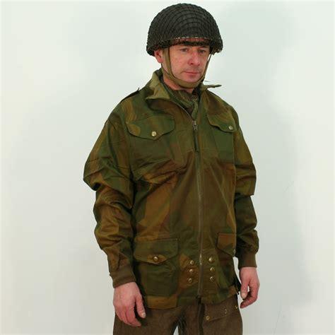ww2 british officer airborne denison smock wwii paratrooper british ww2 full zip denison smock by kay canvas replica