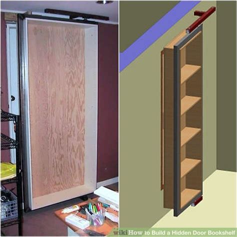 how to build a door bookshelf 6 steps with pictures