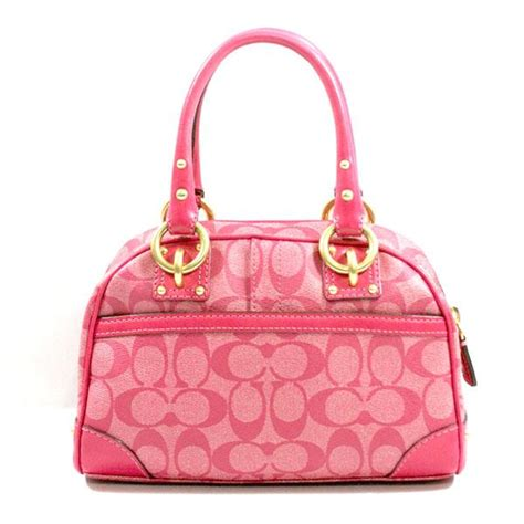 Coach Dome Small heritage signature small domed satchel bag 13194 coach 13194