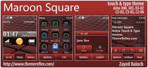 guitar themes for nokia c2 maroon square themereflex