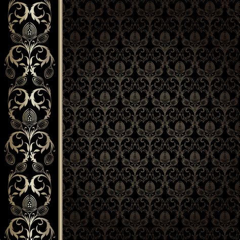 pattern vector no background european gorgeous wallpaper background pattern vector free