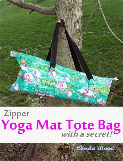 tutorial yoga bag zipper yoga mat tote bag tutorial bags tote bag