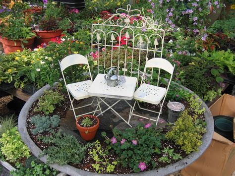 For The Love Of Gardening Where Fairies Play Miniature Gardens Ideas
