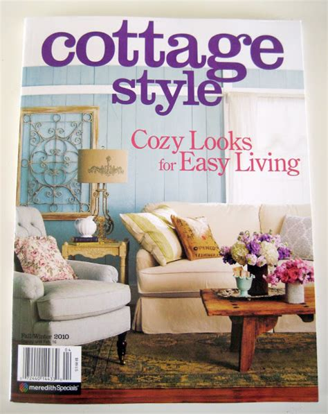 Inspirations Of Old Comfy Cozy Shabby Cottage Design Magazine
