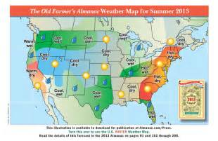 weather in map promotional weather maps from the farmer s almanac