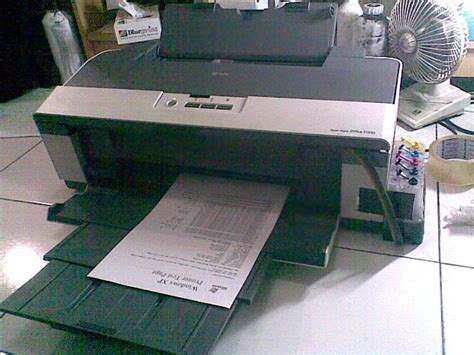 Printer A3 Epson Stylus Office T1100 memperbaiki printer t1100 general printer error