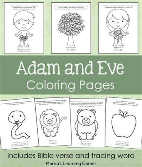 preschool coloring page adam and eve adam and eve bible coloring pages mamas learning corner