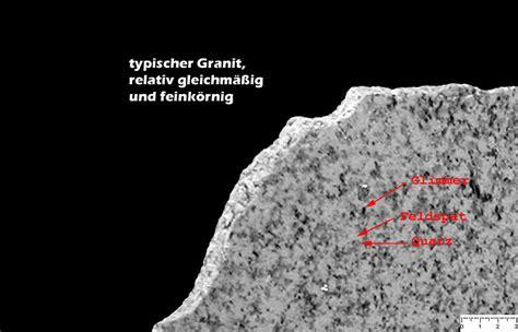 granit bei wieland naturstein - Granit Bestandteile