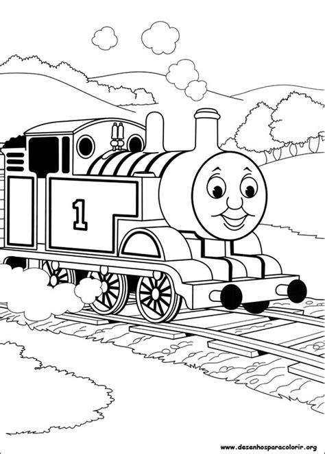 rosie train coloring page thomas e seus amigos para colorir