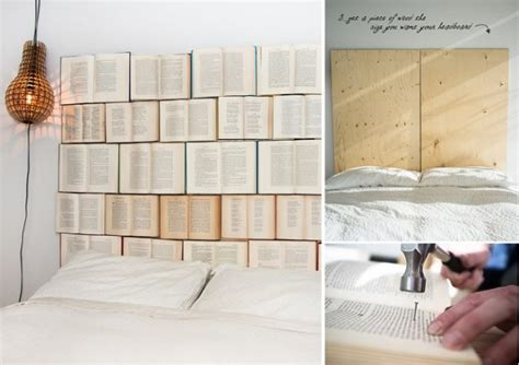 cheap diy headboard diy book headboard home design garden architecture