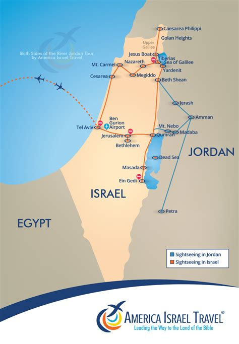 holy land tours  sides   river jordan america
