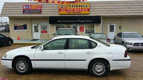 2nd chance auto 2000 chevrolet impala base 4dr sedan in montgomery al