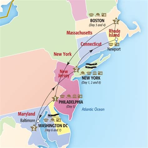 map us east coast major cities cities of the east coast summer 2014