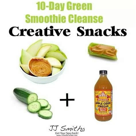 10 Day Smoothie Detox Pdf by 64 Best Jj Smith Approved Snacks Images On
