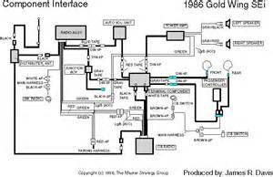 honda gold wing gl1500 audio system radio wiring diagram get free image about wiring diagram