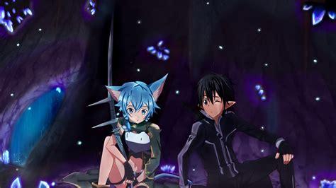 imagenes de kirito wallpaper kirito and sinon couple cave by vergilian91 on deviantart