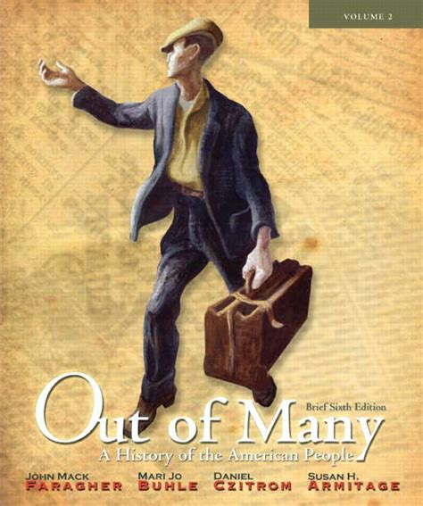 out of many volume 1 8th edition pearson custom library american history retrieving the