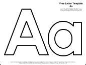 Educational printables alphabet templates