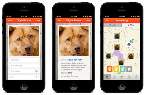 for dogs app image gallery lost app