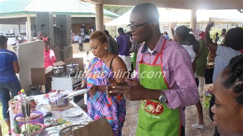 bernard avle and richard sky battle it out on citi fm s kojo akoto wins cooking competition at family