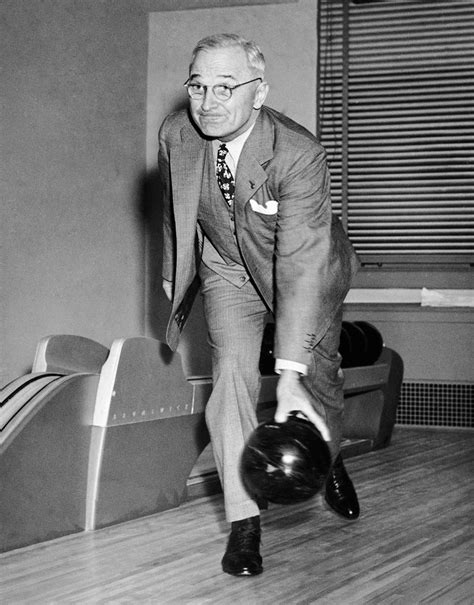 truman house president truman bowling in the white house the two lane alley was built as a