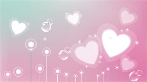 full hd wallpaper heart pink romantic abstraction desktop