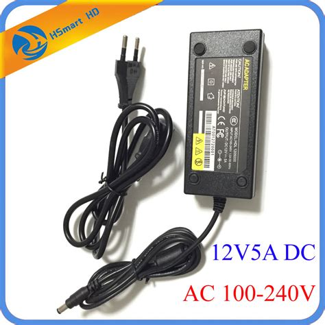 Power Supplay 5a 12v Cctv dc 12v 5a power supply adapter 8 split power cable for