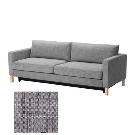 Karlstad Sofa Isunda Grey by Karlstad Sofa Bed Slipcover Cover Isunda Gray Grey
