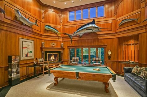 Bar Pool Tables For Sale 5 Luxurious Billiard Rooms Huffpost
