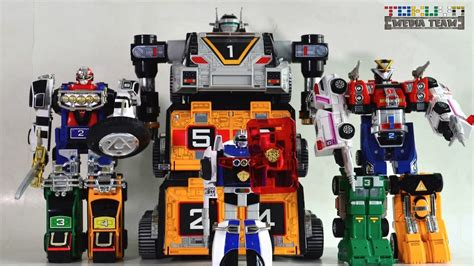 Megazord Turbo Daizyujin Turbo Base Power Ranger all dx gattai gekisou sentai carranger 1996 激走戦隊カーレンジャー power rangers turbo megazord