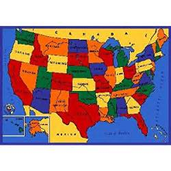 us map rug area rug usa map design 8 ft 10 in x