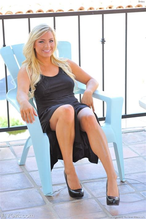 Embry Black Dress From Ftv Girls At Nudemodel Pics