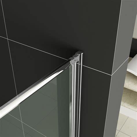 Two Panel Sliding Shower Bath Screen 1 2 3 4 5 fold pivot folding bath shower screen 1400 glass
