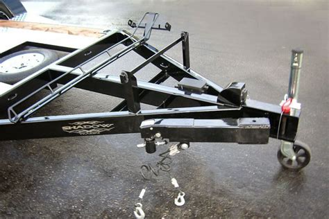 swing away boat trailer tongue custom trailer options for shadow trailers