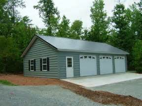 Three Car Garage Sheds Ottors Garage Plans With Lean To