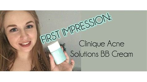 Clinique Acne Solutions Bb impressions clinique acne solutions bb