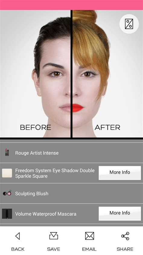 virtual hairstyles app android makeup premium android apps on google play