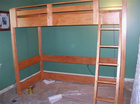 loft bed designs woodwork loft bunk bed plans pdf plans