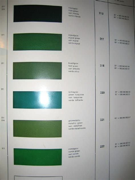 porsche signal green paint code signal green vs viper or conda green