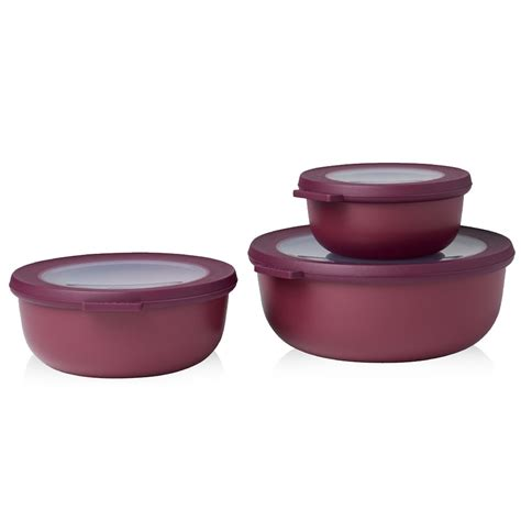 mepal multi bowl cirqula set small 3pcs mepal shop