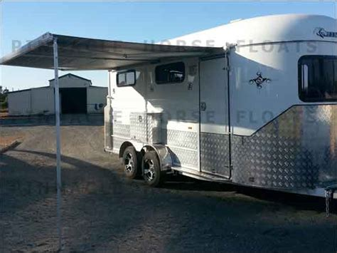 horse float awnings horse float awning archives rv service centre toowoomba