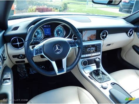 Slk 250 Interior by 2013 Mercedes Slk 250 Roadster Interior Color Photos